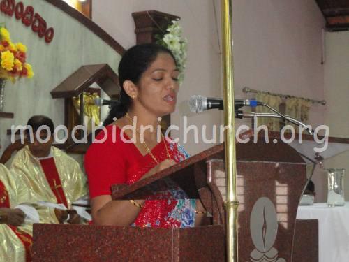Moodbidri Church Website - Corpus Christi Feast Celebrated