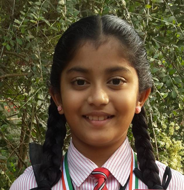 Sheavon Serrao won 1st place in Konkani recitation competition