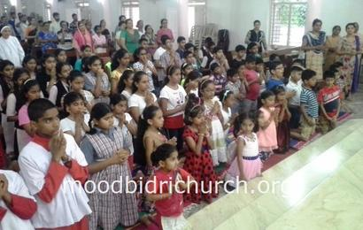 Special praying ceremony for Children