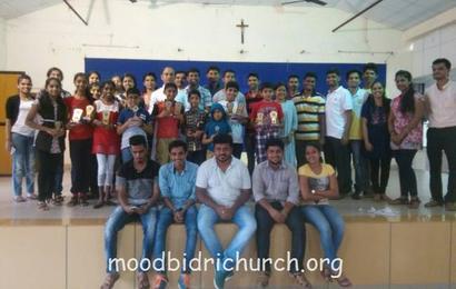 Indoor Games for Children held by ICYM Moodbidri