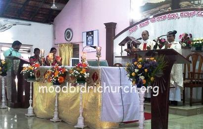 """Feast of """"Most Holy Body and Blood of Christ"""" celebrated"""