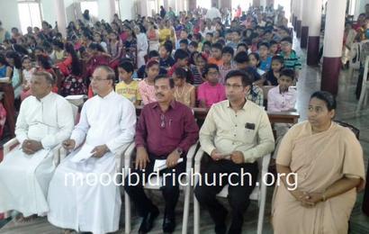 Catechism Day celebrated in Corpus Christi Church Moodbidri