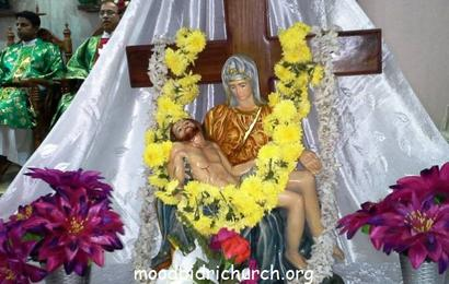Feast of Our Lady of Sorrows celebrated at Moodbidri Church