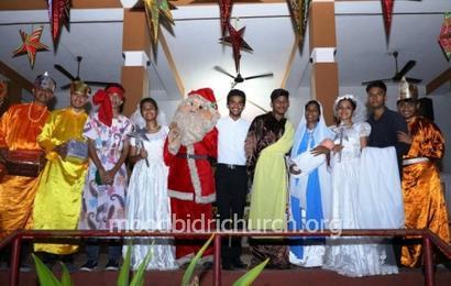Christmas 2018 at Corpus Christi Church Moodbidri