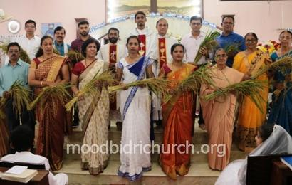 Monthi Fest celebrated at Moodbidri Church