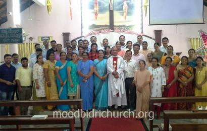 New Parish Pastoral Parishad (2020-2022) sworn in