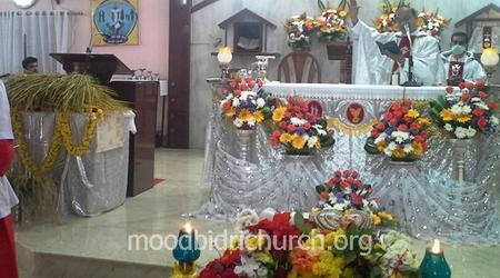 Feast of Nativity of Mary celebrated by Corpus Christi Parish