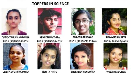 Congratulations to PUC II & CBSE X class successful students of our Parish